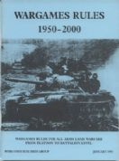 WRG: Wargames Rules 1950-2000 by Phil Barker